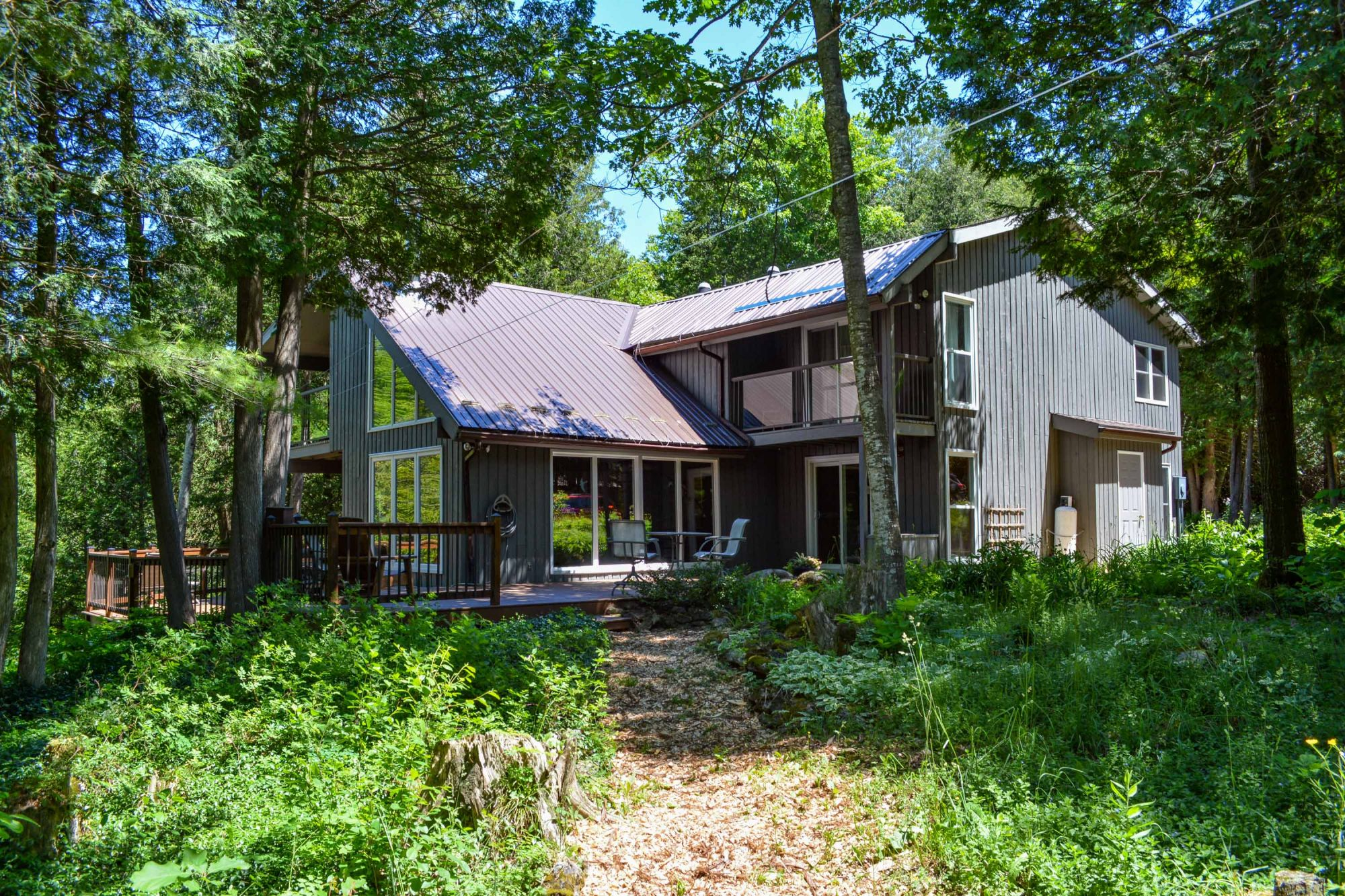 6.4 Acres with Rock Saugeen River